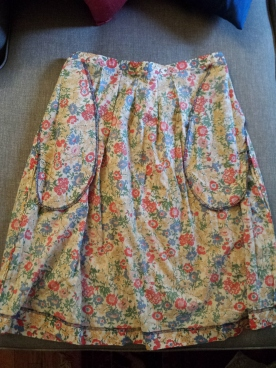 vintage liberty skirt inside