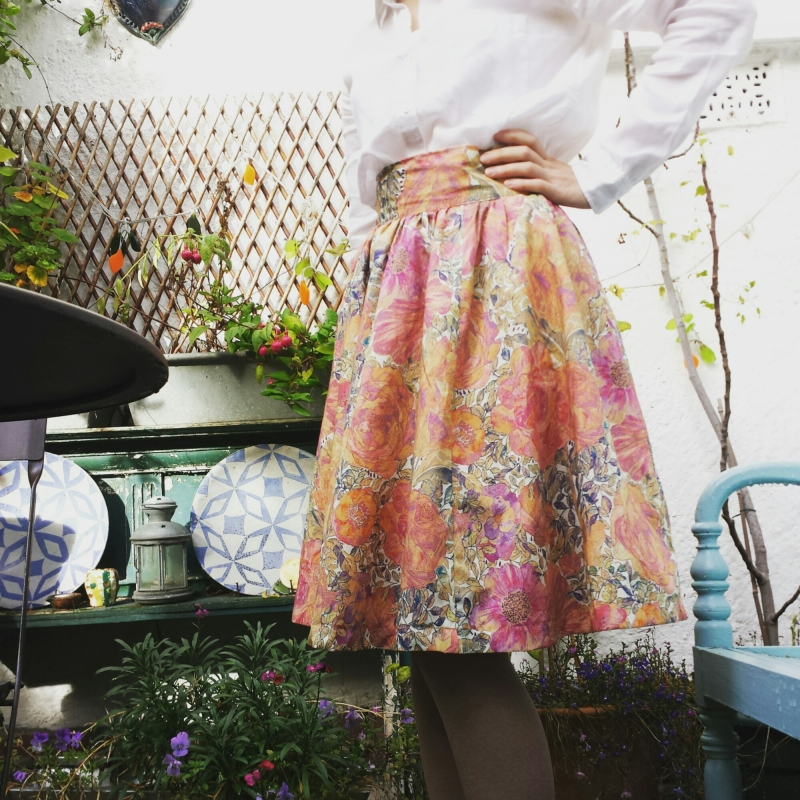 liberty rose xanthe skirt